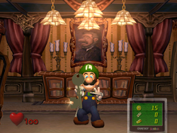 Parlor Luigi S Mansion Super Mario Wiki The Mario