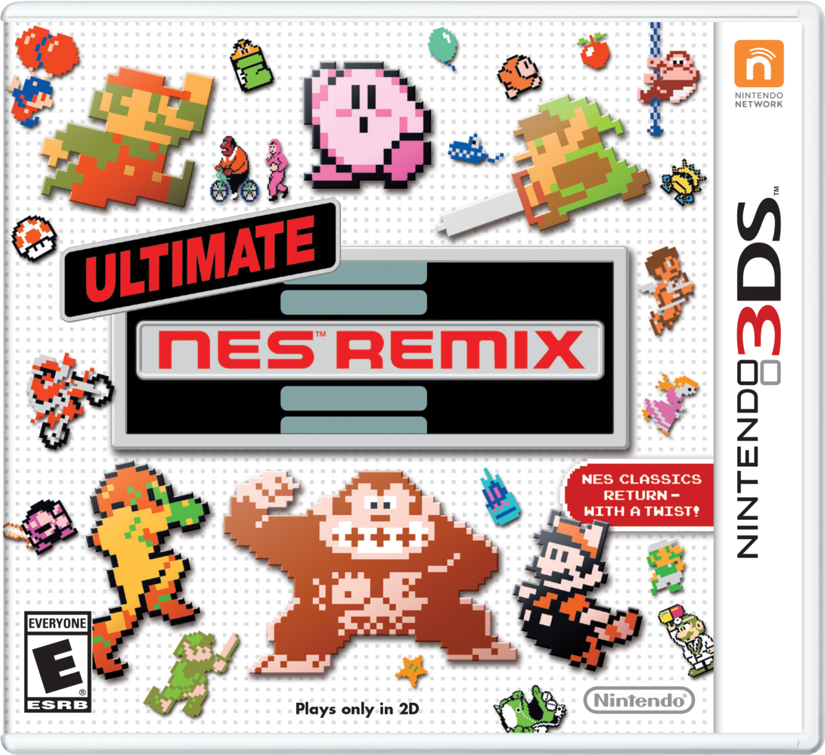 Ultimate NES Remix - Super Mario Wiki, the Mario encyclopedia