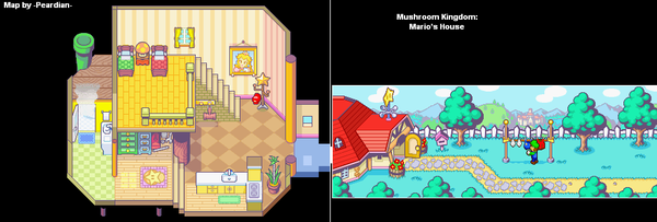 Mario Bros House Super Mario Wiki The Mario Encyclopedia