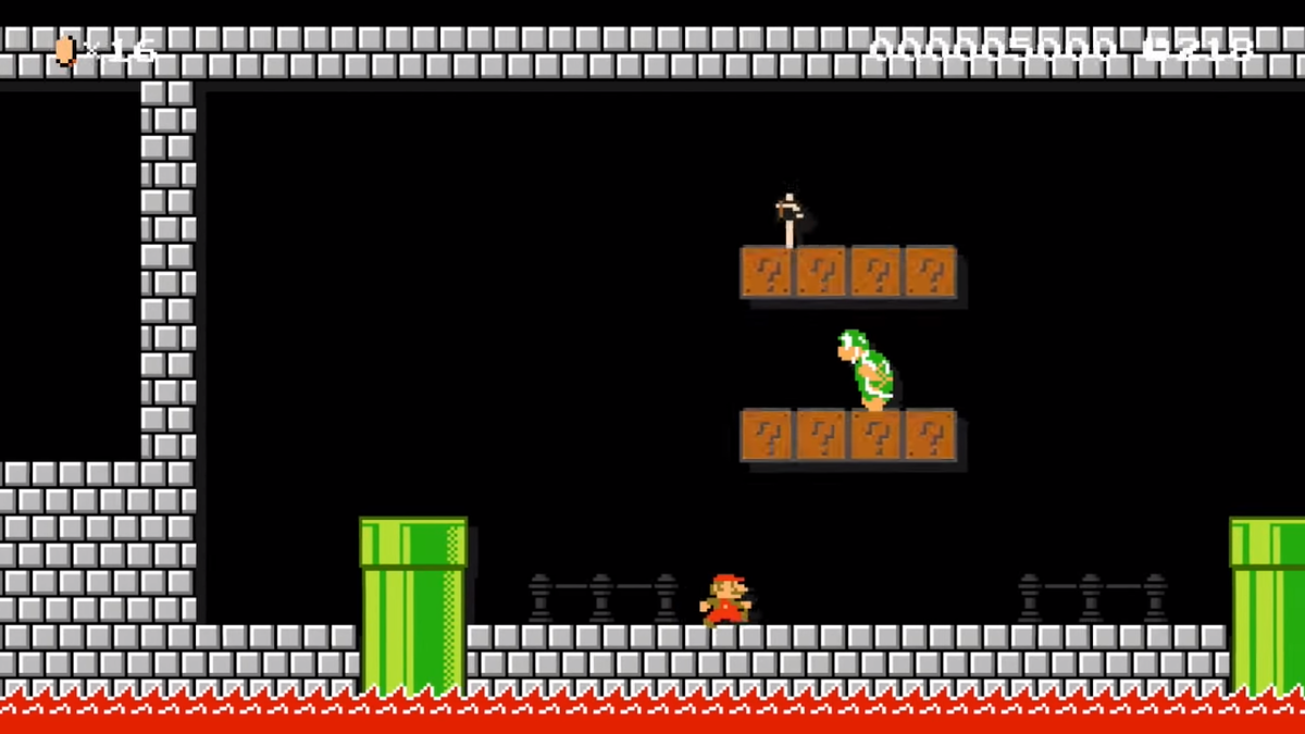 8 4 Remix Castle Labyrinth Super Mario Wiki The Mario
