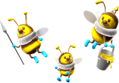 Bee Artwork - Super Mario Galaxy.png