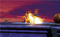 Mario and Bowser Fire Artwork (alt 3) - Super Mario 64.png
