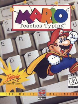 Mario Teaches Typing Super Mario Wiki The Mario