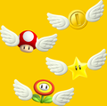 Assorted Winged Items - Super Mario Maker.png