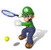 Luigi Artwork - Mario Power Tennis.png