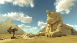 One Path Super >> Dry Dry Desert (GCN) - Super Mario Wiki, the Mario ...
