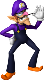 Mario Party - Island Tour Waluigi Artwork.png