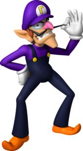 Waluigi Super Mario Wiki The Mario Encyclopedia
