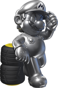 Metal Mario Artwork - Mario Kart 7.png