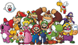 Club Nintendo Characters Poster.png