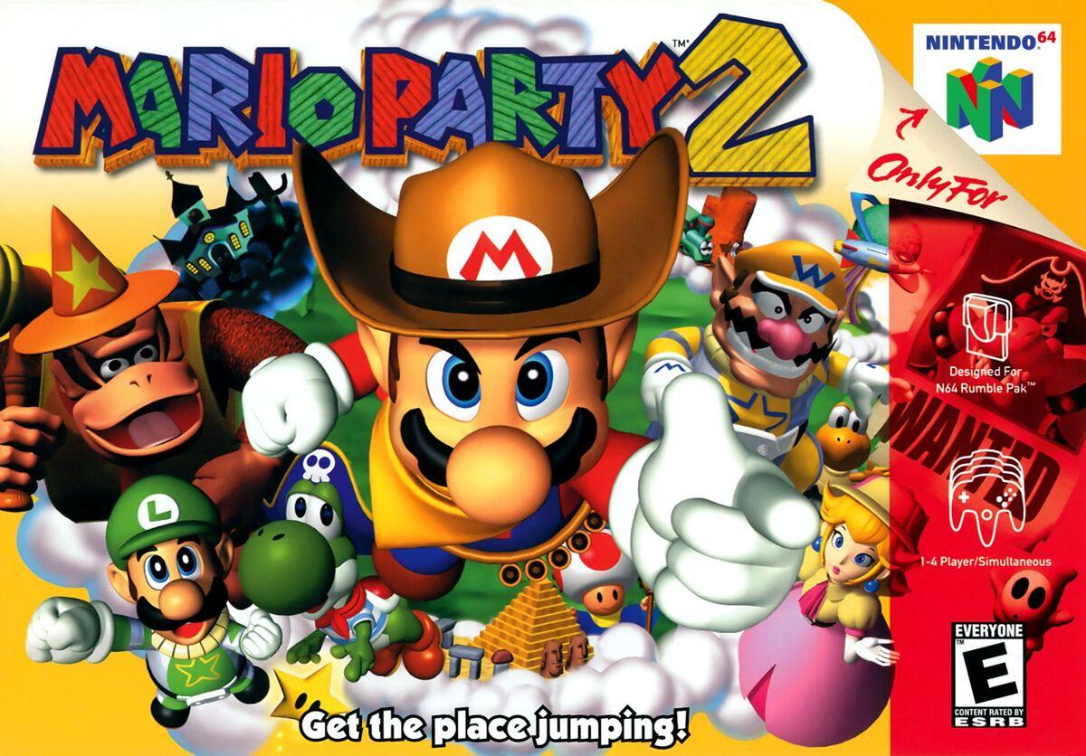 descargar rom mario party 1 n64