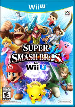 Super Smash Bros For Wii U SSBWiiU NA Boxart