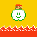 Mario (Lakitu Cloud) - Super Mario Maker.png