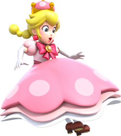 En mario brothers princess peach blo
