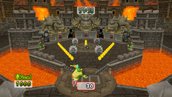 Multiplayer Bowser Pinball