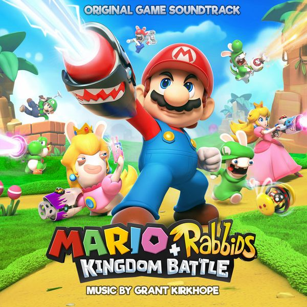 File:Mario + Rabbids Kingdom Battle Original Game Soundtrack Cover.jpg