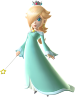 Mercedes Rose was the original voice actress for Rosalina.