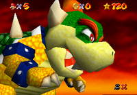This Large Fire-Breathing Bowser Collectible Is Now ... |Fire Bowser