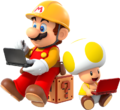 SMMfor3DS - Mario and Toad.png