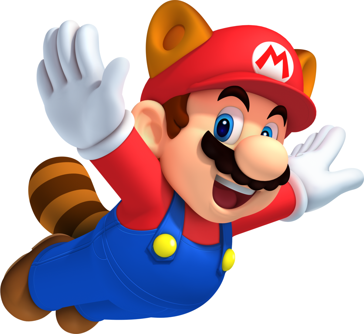 Raccoon Mario - Super Mario Wiki, the Mario encyclopedia