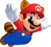 Raccoon Mario - New Super Mario Bros 2.png