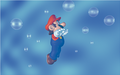 Mario Swimming Artwork (alt 2) - Super Mario 64.png