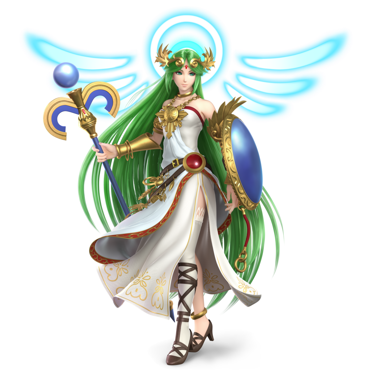 Palutena Super Mario Wiki The Mario Encyclopedia