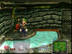 Luigi S Mansion First Floor Hidden Room