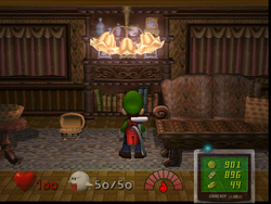 Luigi S Mansion Nanas Room