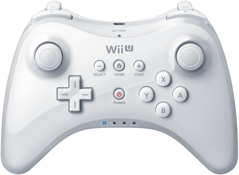 File:Wii U Pro Controller White.png