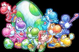 Yoshi Species Super Mario Wiki The Mario Encyclopedia