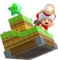 Toad Brigade Captain Artwork - Super Mario 3D World.png