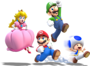 Main Crew Artwork (alt) - Super Mario 3D World.png