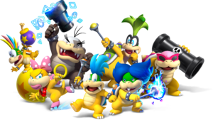 NSMBU Koopalings Group Artwork.png