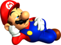 Mario Sleeping Artwork - Super Mario 64.png
