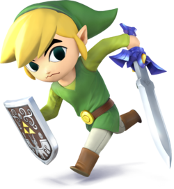 SSB4 - Toon Link Artwork.png