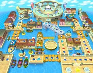 Square Mario Bros Birthday Cake Decorations