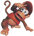Diddy crouching DKC art.png