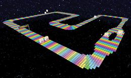 Rainbow Road Snes Super Mario Wiki The Mario Encyclopedia