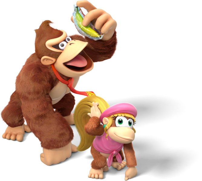 File:Donkey Kong and Dixie Kong - Donkey Kong Country Tropical Freeze.png