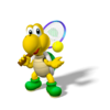 Koopa Troopa Artwork - Mario Power Tennis.png