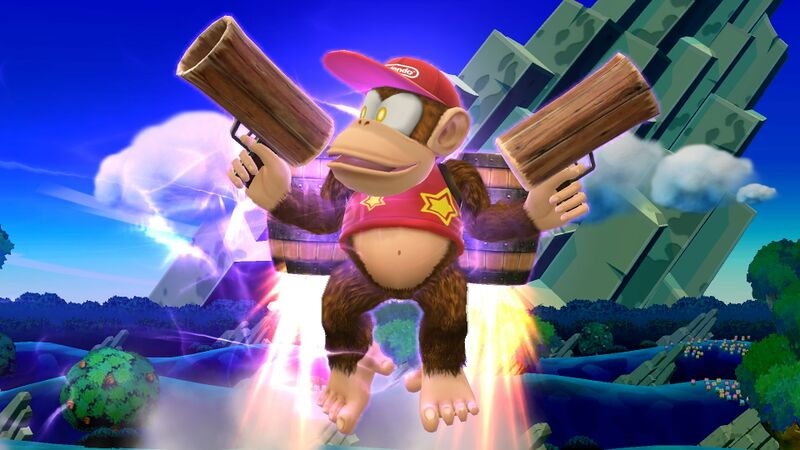 File:Diddy Kong Rocketbarrel Barrage.jpg