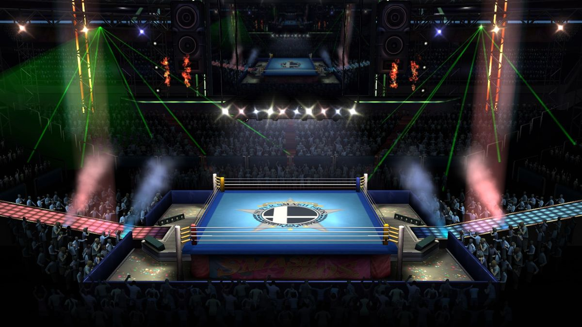 Boxing Ring Super Mario Wiki The Mario Encyclopedia