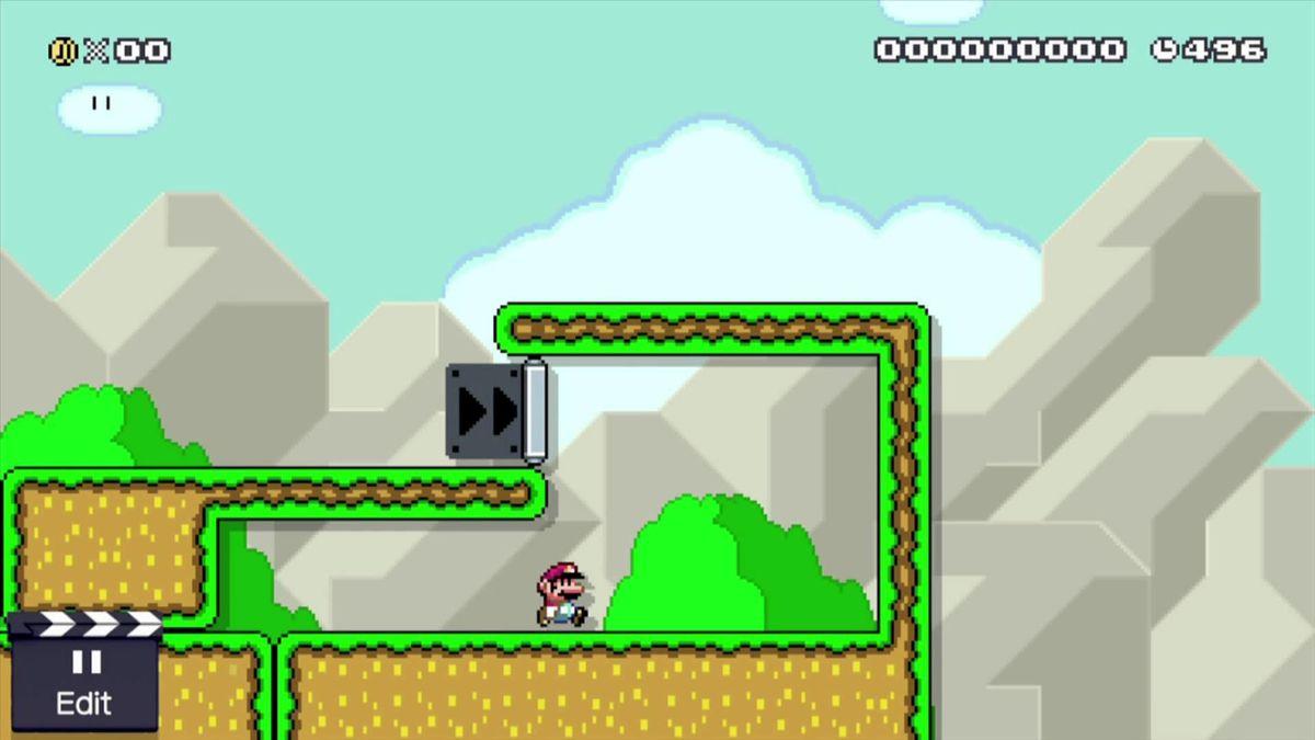 One-Way Wall - Super Mario Wiki, the Mario encyclopedia