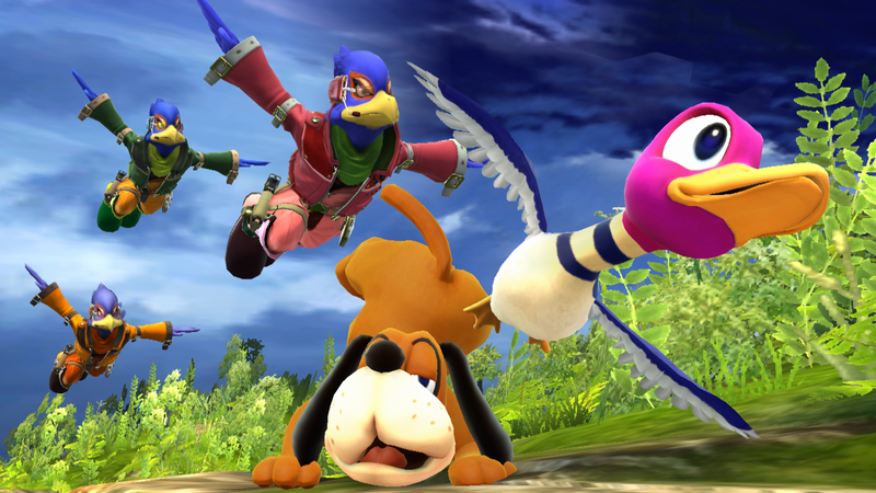 File:Duck Hunt SSBWU shot 2.png