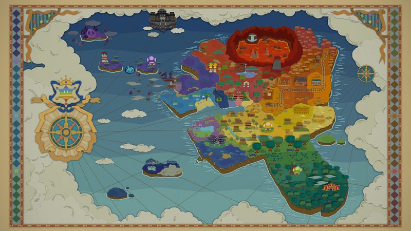 Prism island super mario wiki the mario encyclopedia locationsedit gumiabroncs Gallery
