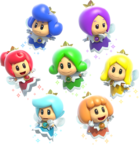 Fairy Group Artwork - Super Mario 3D World.png