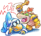 Kamek and Baby Bowser Artwork - Yoshi's New Island.png