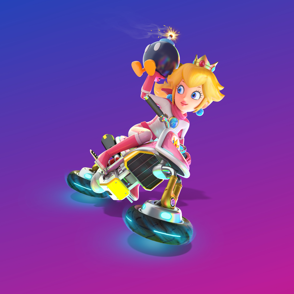 File:MK8 Deluxe Art - Peach.png