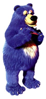 Blue, the Bear in blues